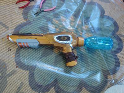 Steampunk gun 001
